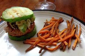 zucchini turkey burger