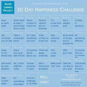 30 day of happiness