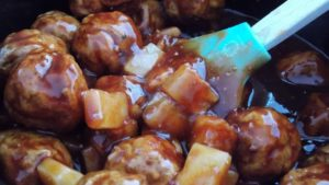 pineapple-meatballs